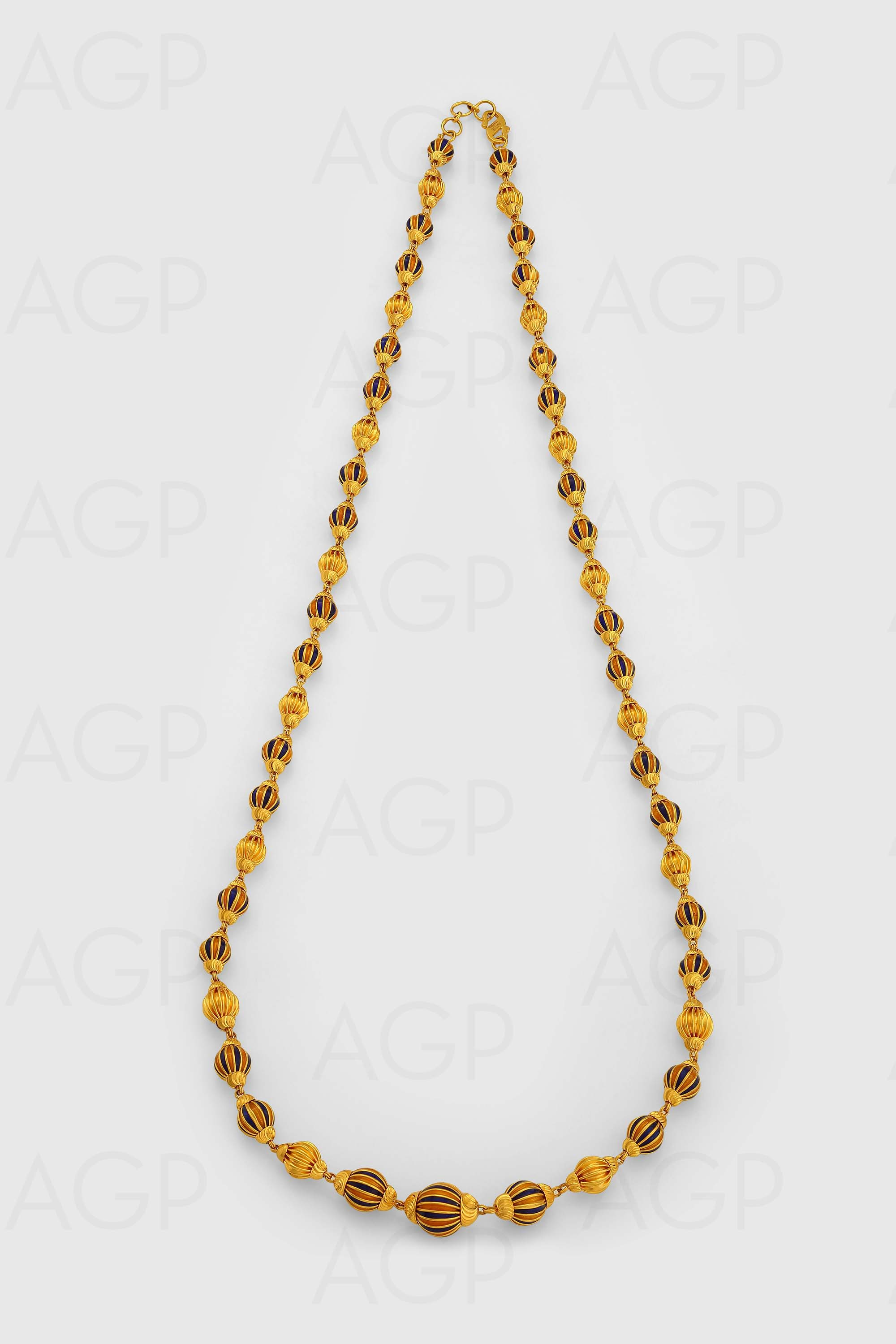 Pai jewellers gold necklace designs latest indian jewellery designs - Chain 46