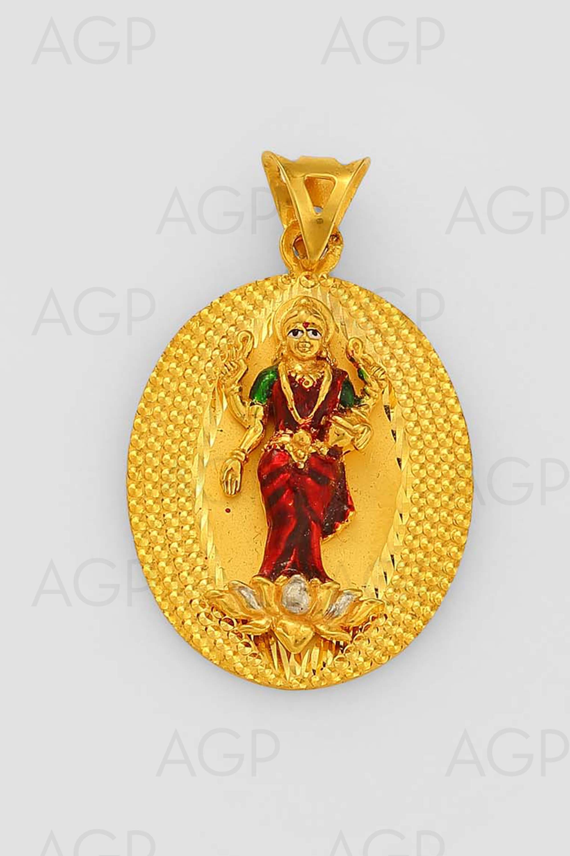 Pai jewellers gold necklace designs latest indian jewellery designs - Locket 61
